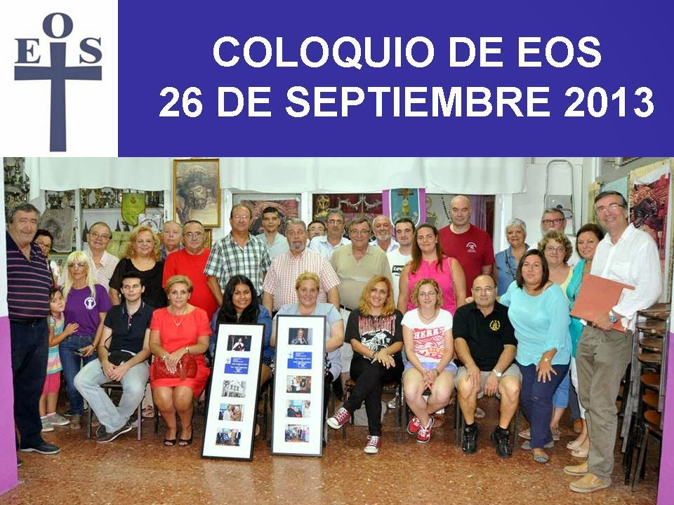 COLOQUIO EOS FIESTAS DEL PERDON 2013