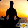 meditation relax music app logo