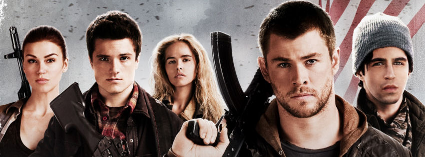 Red dawn movie facebook cover