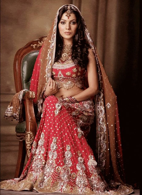 Latest Indian Bridal Dulhan Dress Pictures - fashion world