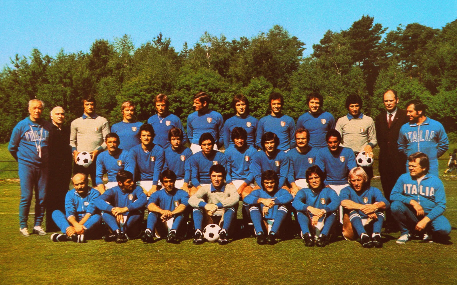 Italie 1974 coupe du monde the vintage football club - Italie foot coupe du monde ...