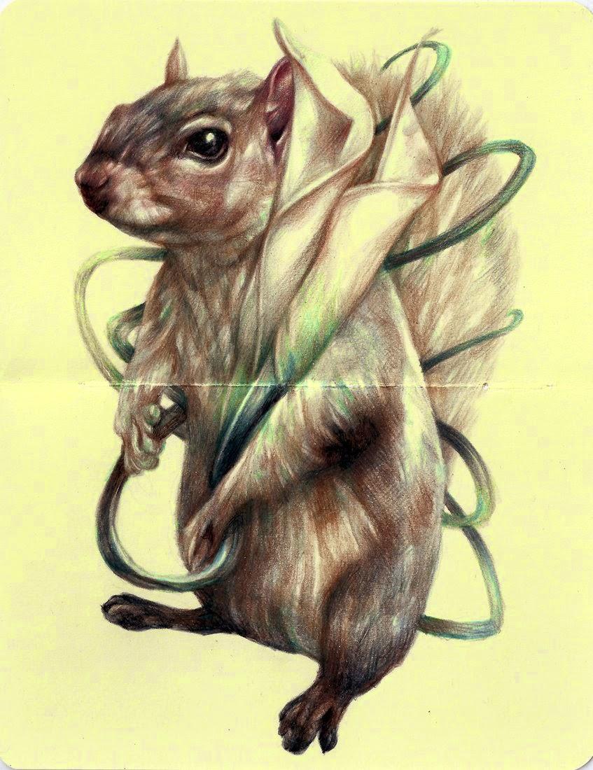 14-Marco-Mazzoni-Surreal-Animal-Drawings-www-designstack-co