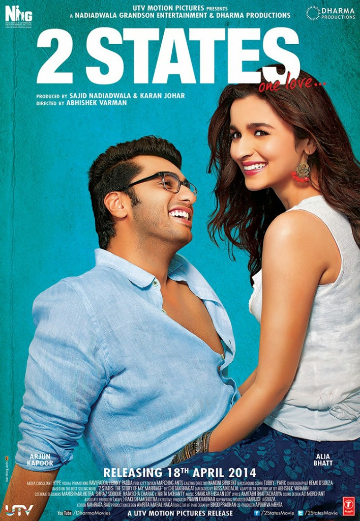 2 States Movie Review : Staring Alia Bhatt Arjun Kapoor