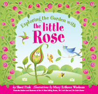 exploring the garden with little rose cover