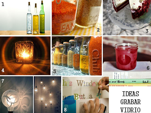 ideas grabar vidrio diy - glass etchingn diy ideas