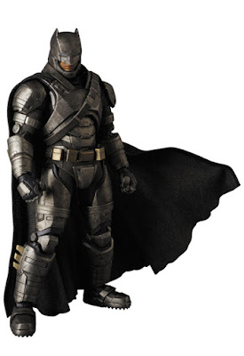 Batman v Superman: Dawn of Justice MAFEX Action Figures by Medicom - Armored Batman