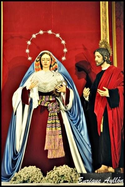Virgen de Gracia y Amparo vestida de hebrea 2014