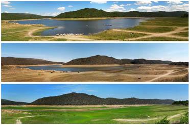Lago Dique La Viña - Traslasierra Cordoba Arg 2011