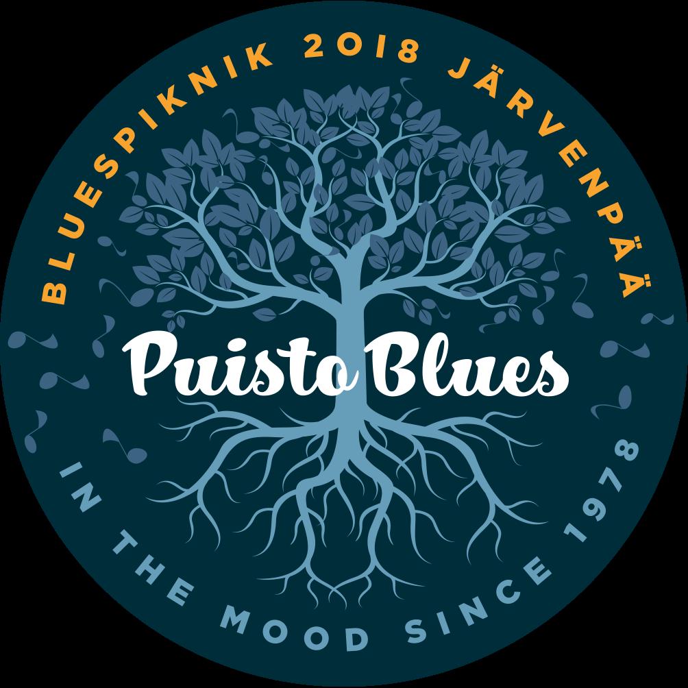 Puistoblues 2018 -bloggaaja