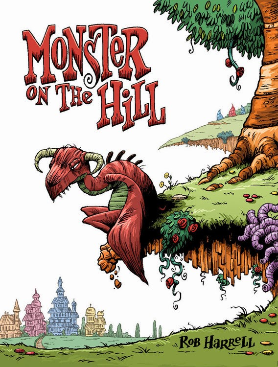 http://roundlake.bibliocommons.com/item/show/2279180035_monster_on_the_hill