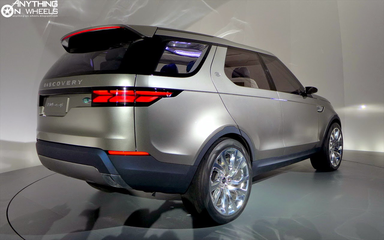 ANYTHING ON WHEELS: 2014 New York - Land Rover unveils the Discovery ...