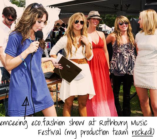 music festival fashion show