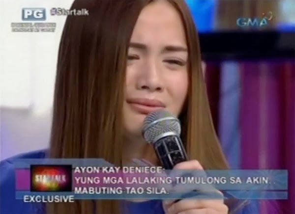 Deniece Cornejo Startalk interview video