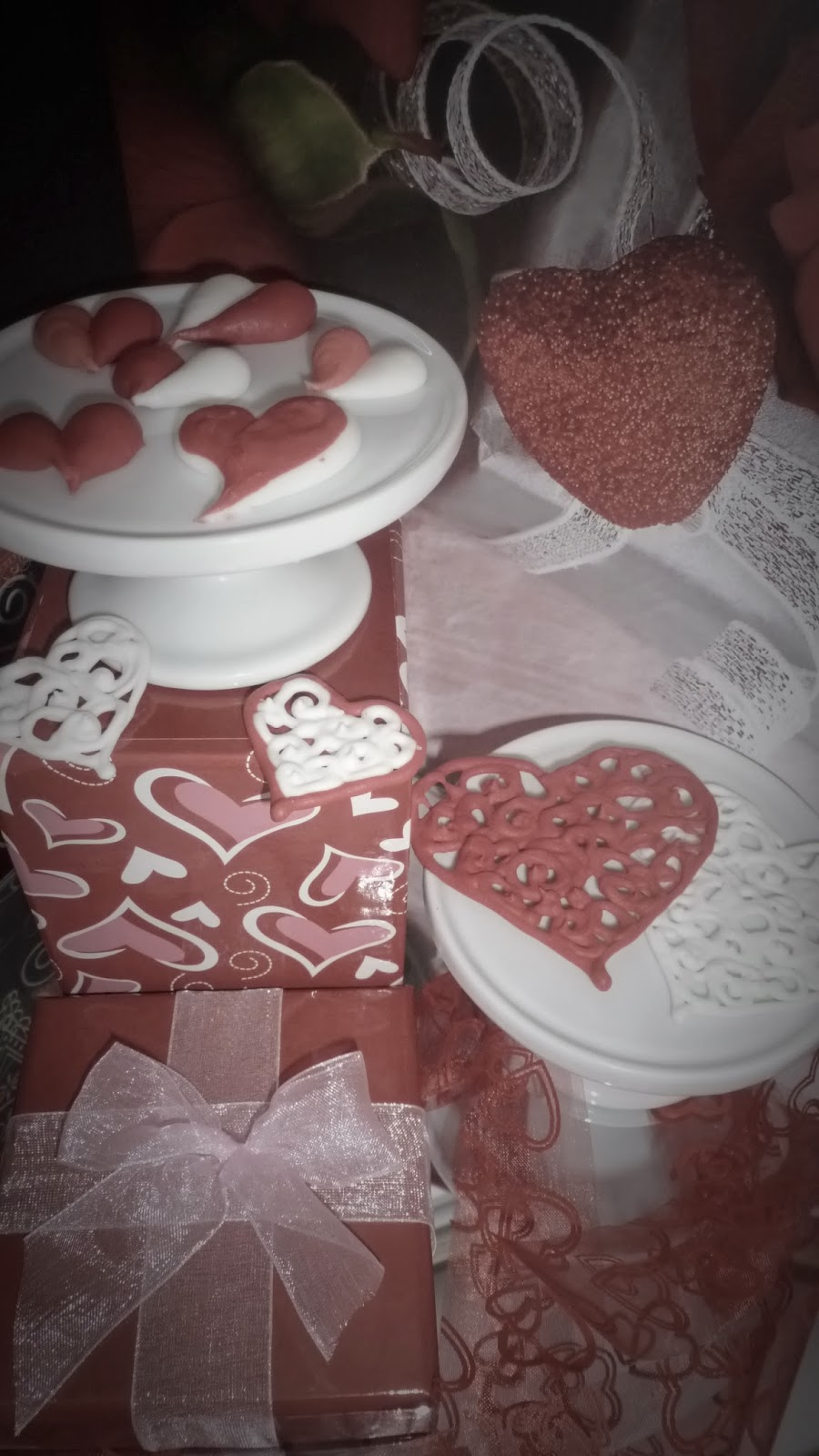 Edible Valentine Hearts