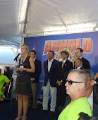 Evento Arnold Classic Brasil com Arnold Schwarzenegger.
