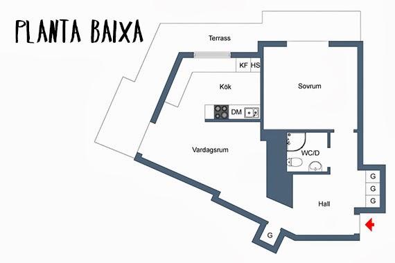 designer de interiores - pequenos espaços - ideia de decoração - apartamento iluminado