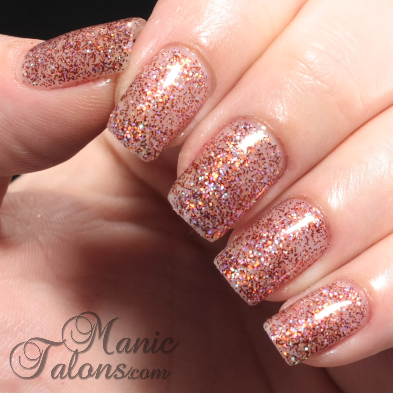 IBD Just Gel Polish Haute Frost Collection Coquette What U Want Swatch