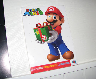 Mario-suklaakalenteri