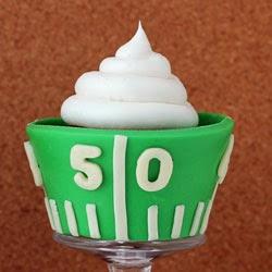 Super Bowl cupcake recipe