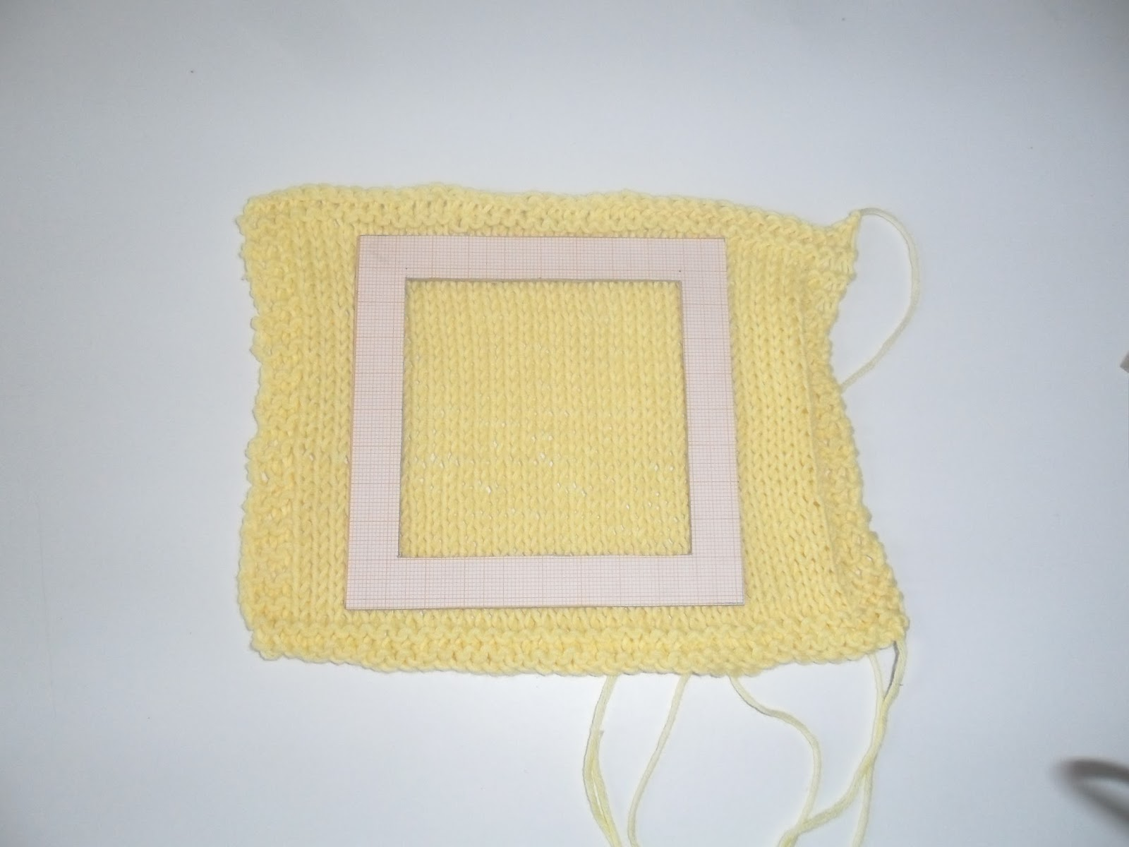 How To Measure Stitches Per Inch Knitting : Olive Groves and Doll Knits: Easy DIY template for measuring Knitting Gauge.