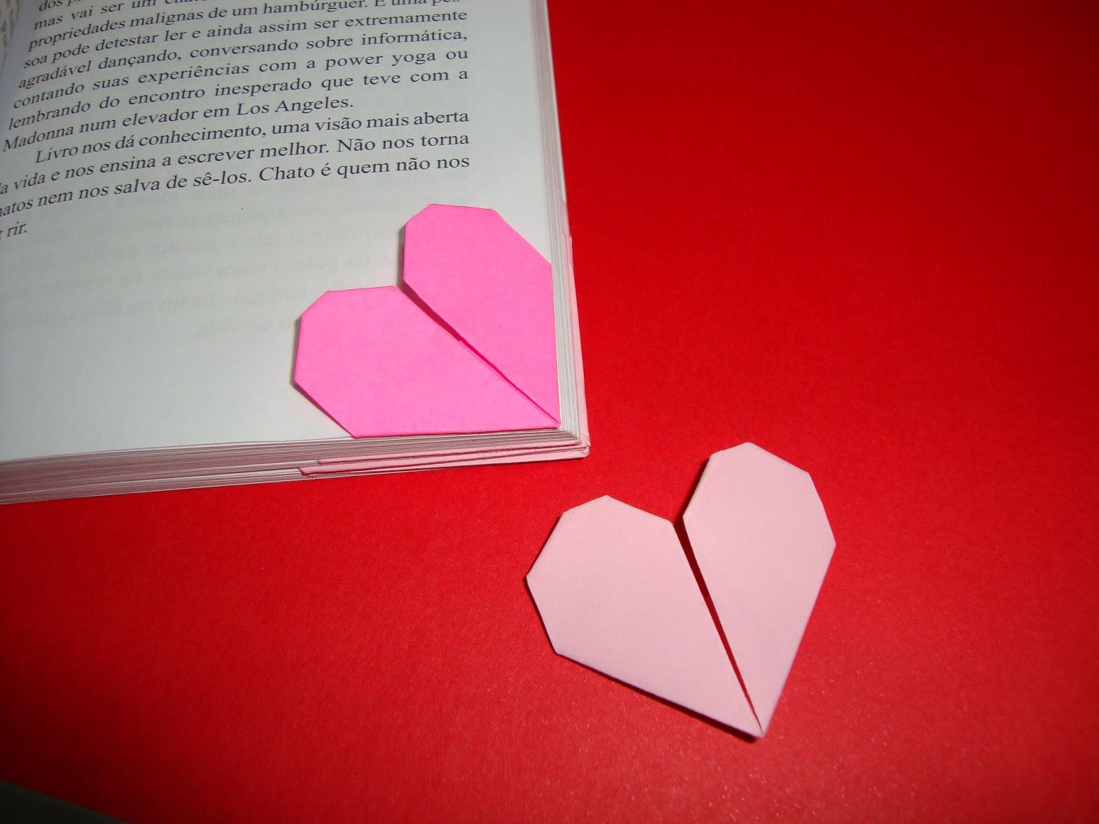 Conhecido She-Nerd *Ruiva*: CRIATIVO ~*~ Marcador de página de coração! GJ09