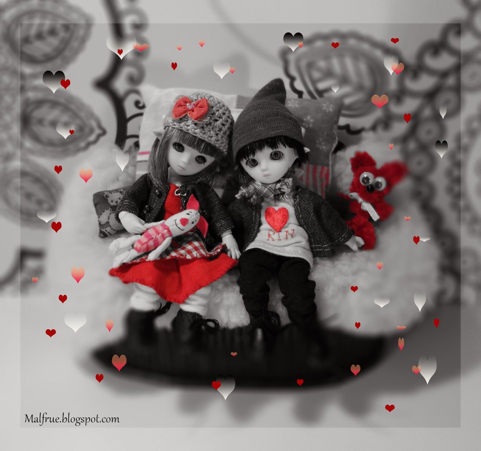 zakochane elfy