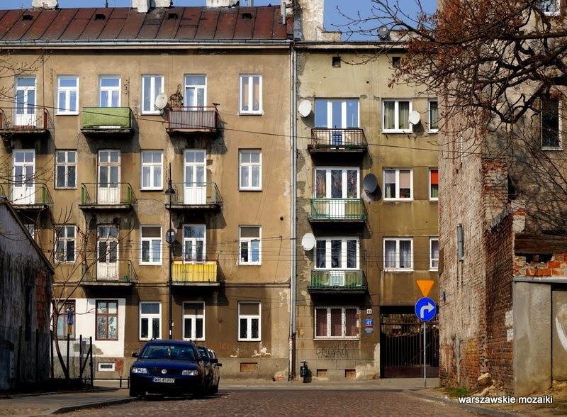 Warszawa Szmulowizna Praga Północ kamienice zabytek ulica