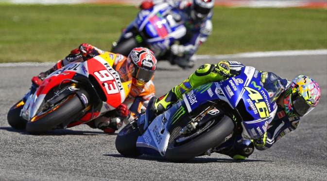 Valentino Rossi: I was just a bump on the head