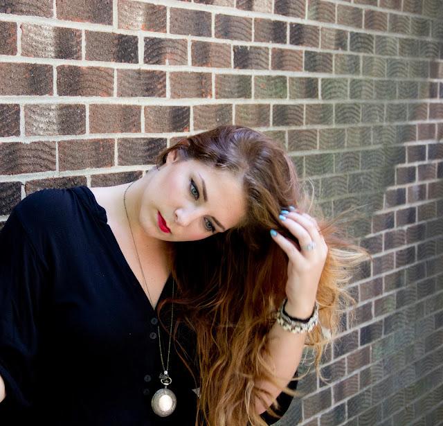 Beauty Blogger Lipstick and Chiffon