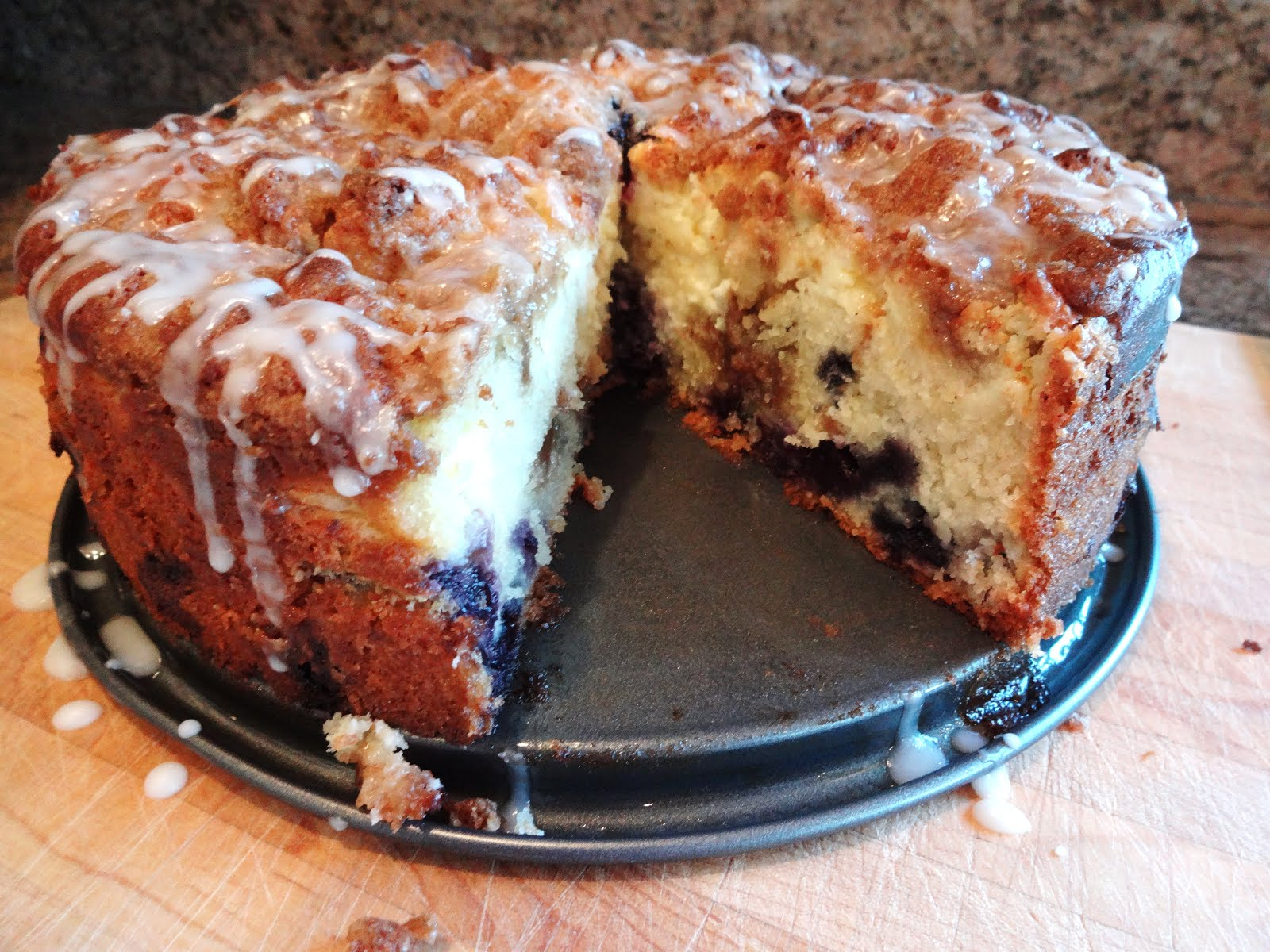 Shenandoah Gateway Farm: Lemon Blueberry Coffee Cake with ...