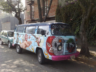 La combi: Art on wheels!