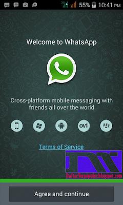 cara daftar whatsapp terbaru
