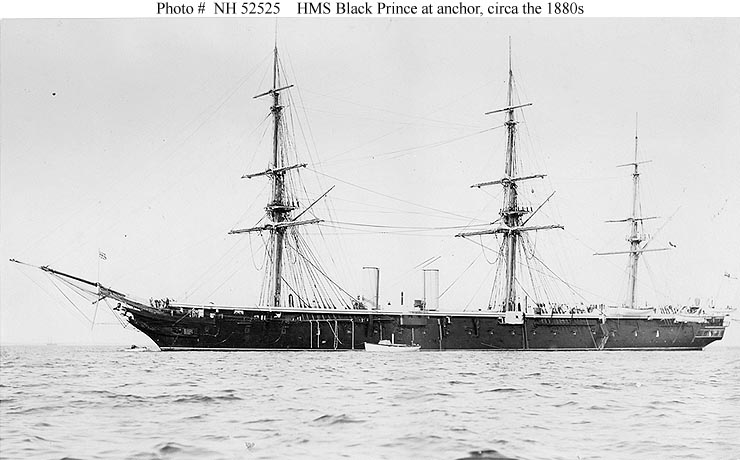 Naval Warfare HMS Black Prince