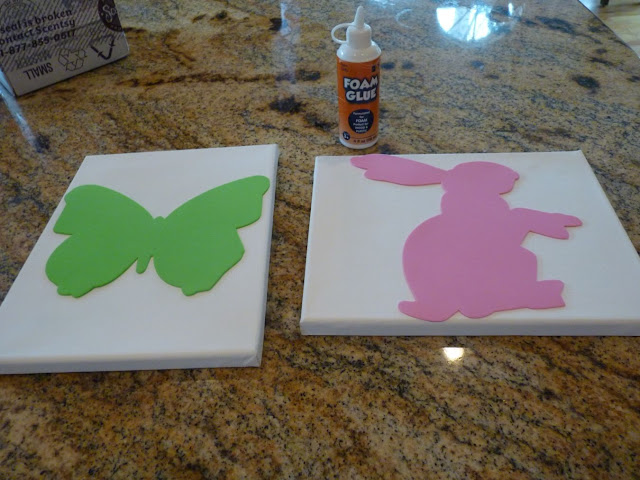 SB 130129444 Spring art work {diy canvas}