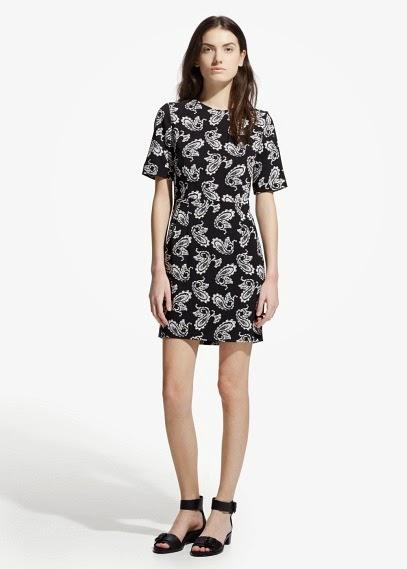 Mango 2015 Elbise Modelleri  çiçekli elbise, yazlık elbise, kısa elbise, rahat elbise modeli