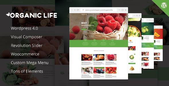 Organic Life - Ecology & Environmental Theme