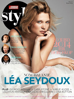 Magazine Photoshoot : Léa Seydoux Photoshot by Schweizer Illustrierte Style Magazine Winter 2014 Issue