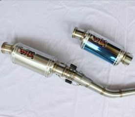 Kenalpot WRX OVAL Spesial Bore Up s/d 350 cc