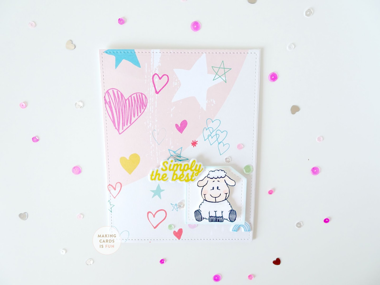 I Am Laura Sterckx From Makingcardsisfun And Im Happy To Be A Guest Designer This Month In Todays Post Using The How Are Awe Set