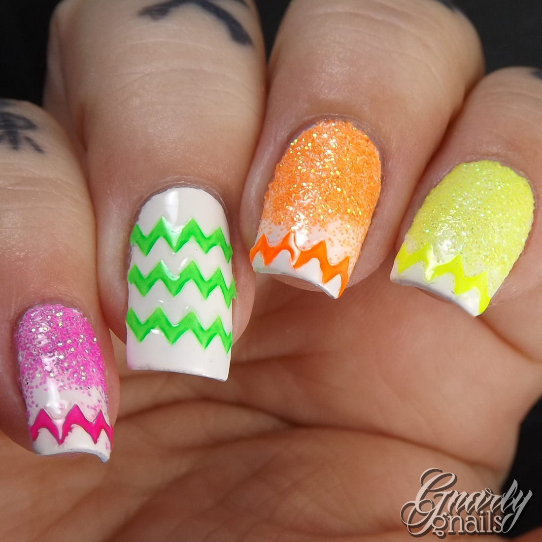 Neon Easter Eggs with Born Pretty Store Nail Art Supplies - Gnarly ...