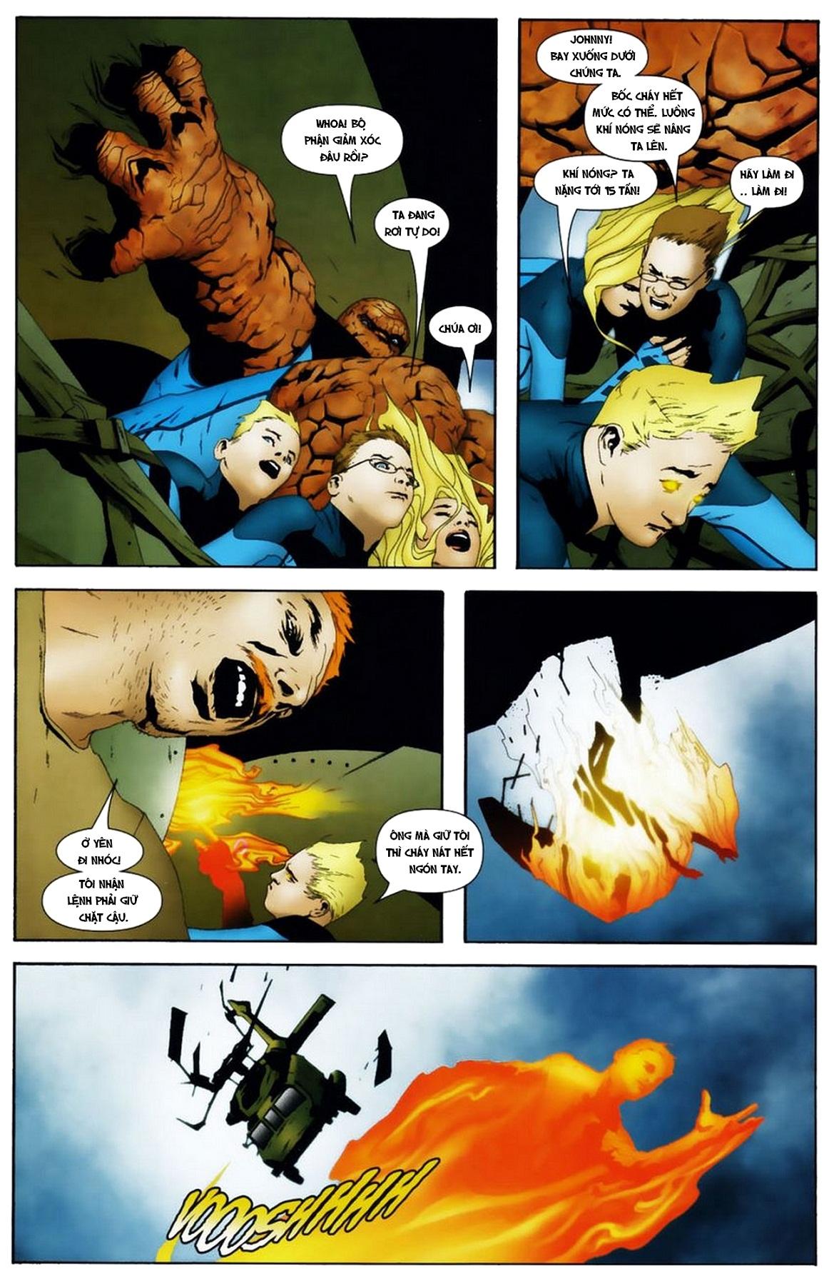 Ultimate Fantastic Four chap 19 - Trang 7