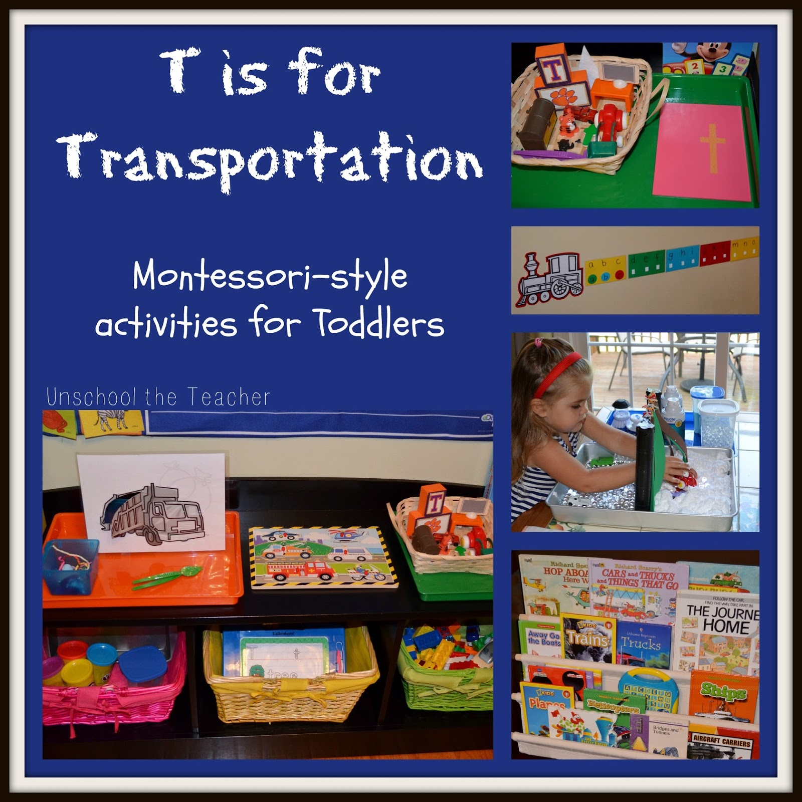 unschool the teacher t is for transportation