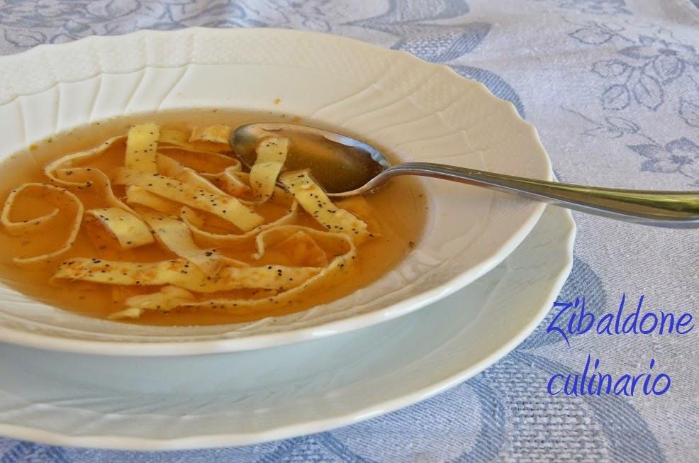 celestina ai semi di papavero, una minestra speciale!