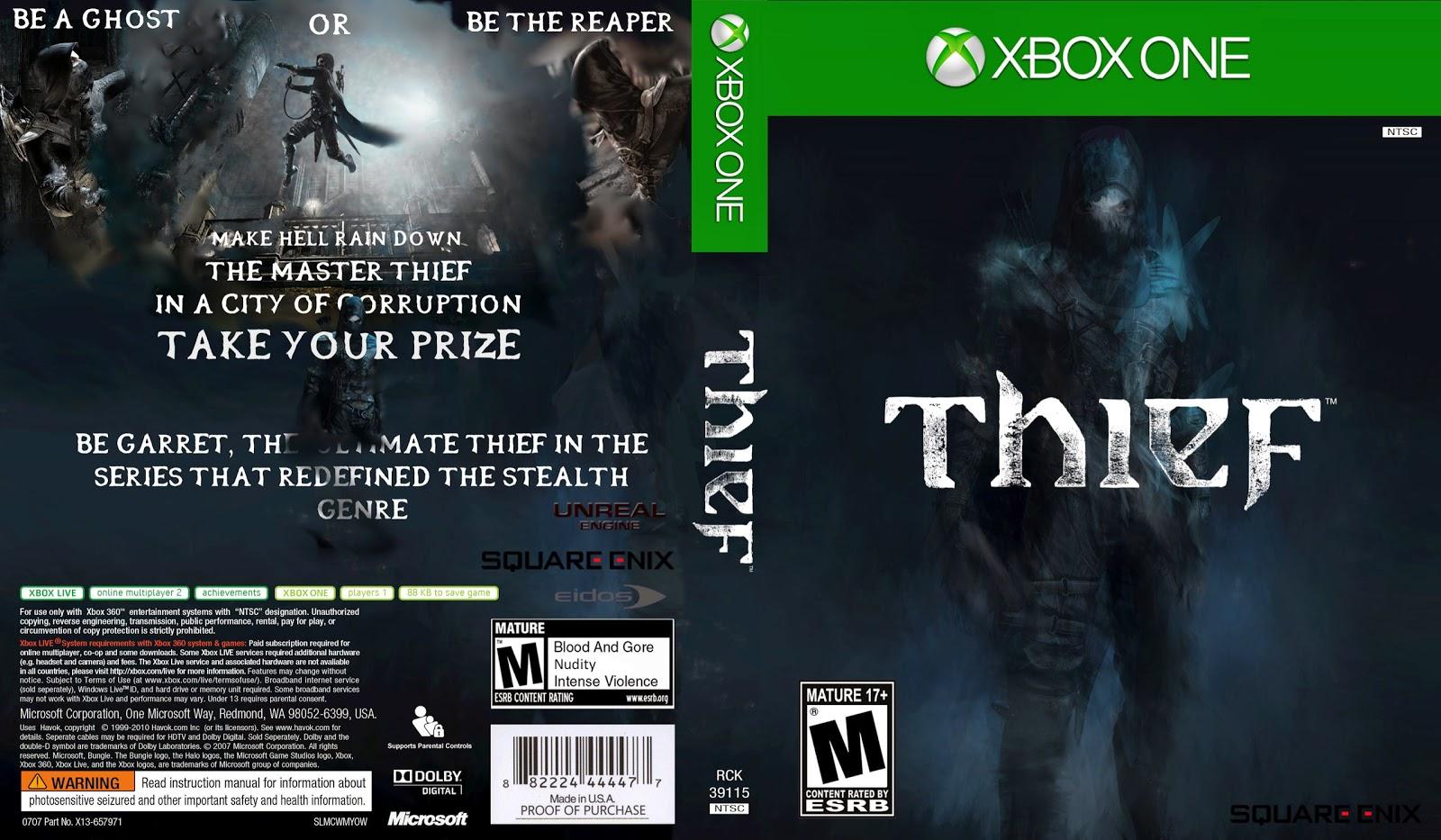Capa Thief Xbox One