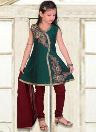 Kids-Wear-Churidar-Anarkali-Frock