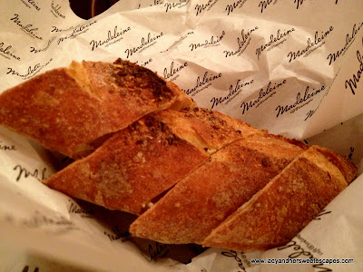 French Bread at Madeleine Cafe