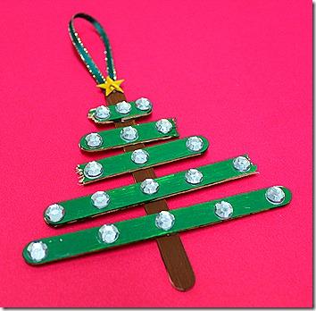 Crafty lady sandi some last minute christmas crafts for kids for Popsicle stick christmas crafts
