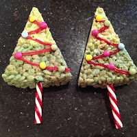 Christmas Tree Krispies