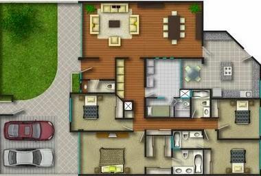 Planos de casas como construir una casa - Como hacer un plano de una casa ...