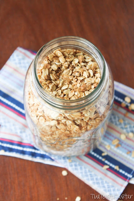 Plain Jane Granola--- customize it to fit your mood! | www.the-taste-tester.com #breakfast #recipe